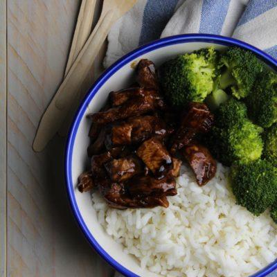 Riso, broccoli e pollo