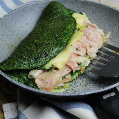 Omelette in verde